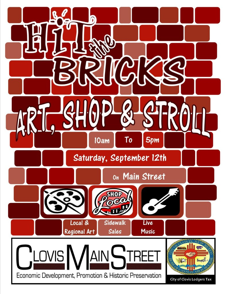 2015 Art Shop & Stroll flyer