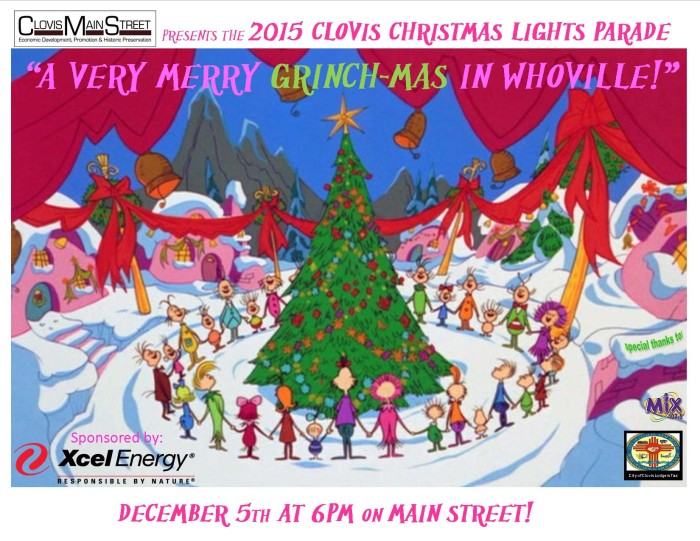 Christmas Parade flier 2015